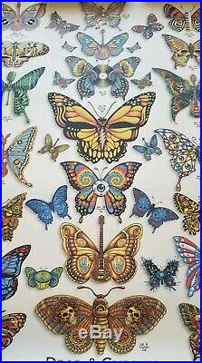DEAD & COMPANY 2019 VIP Summer Tour Butterfly Poster. FREE SHIPPING