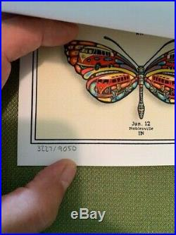DEAD and COMPANY 2019 VIP Summer Tour BUTTERFLY Poster Signed & Numbered (#3227)