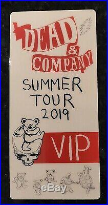 DEAD and COMPANY 2019 VIP Summer Tour BUTTERFLY Poster with VIP Souvenir Ticket