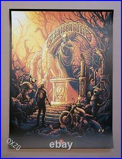 Dan Mumford Grateful Dead & Company Art Print Poster Bottleneck Mondo Garcia