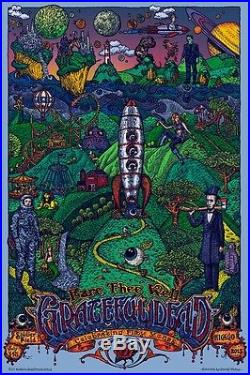 David Welker Art Poster Print Grateful Dead 50 Soldier Chicago EMEK Phish Levi's
