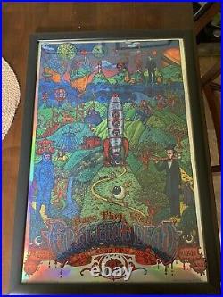 David Welker Fare Thee Well Grateful Dead Mirror Foil Printers Proof