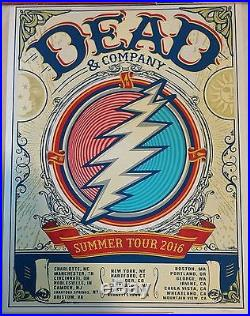 Dead And Company 2016 Summer Tour VIP Print 3666/7000