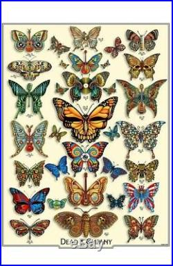 Dead And Company 2019 Summer VIP Emek Butterfly Poster AE Signed xx/200