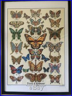 Dead And Company 2019 VIP Poster Butterfly Dead And Co Poster Grateful Dead