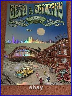 Dead And Company Concert Poster 2019 Citi Field NYC Mike DuBois