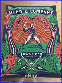 Dead And Company Fenway Poster
