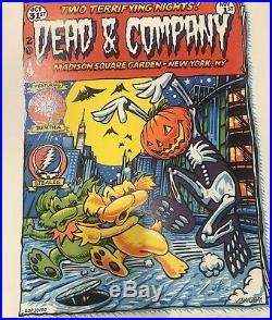 Dead And Company Halloween Fall Tour Madison Square Garden MSG LE 2019 Poster