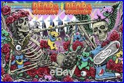 Dead And Company Hampton VA VIP Matching Set 2019 Official Show Posters Grateful