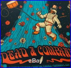 Dead And Company MATCHING SET AP 11/8 & 11/9 2019 Hampton Coliseum Helton Poster