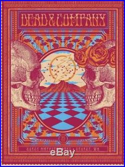 Dead And Company Poster 6/29/18 Artist Proof The Gorge, signed and numbered