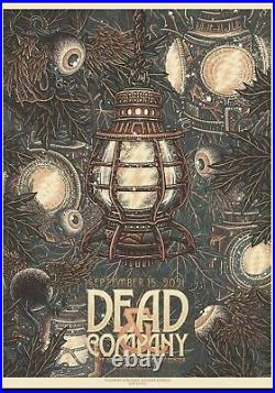 Dead & And Company Poster 9/15/21 Noblesville IN Weir Mayer 2021 Indiana