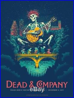 Dead And Company Poster Austin 12/2 Grateful Dead