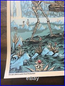 Dead And Company Poster Eugene OR Autzen Stadium Print Mike Dubois Artist Signed