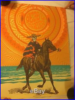 Dead And Company Poster Playing In The Sand Mexico 2018