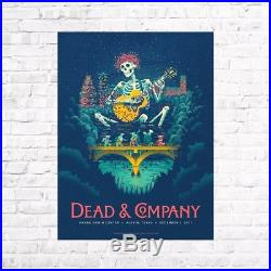 Dead And & Company Poster Print Austin Texas 2017 A/p S/n
