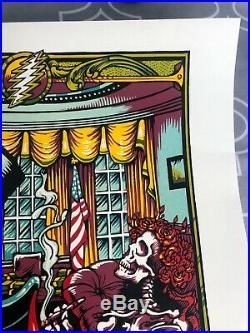 Dead And Company Poster Washington DC November 6 2015 11-6-15 D. C. AJ Masthay