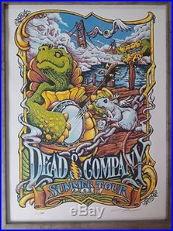 Dead And Company VIP Poster 2017 With BOSTON SET ON OFFICIAL USB