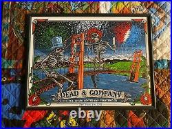 Dead And Company VIP Poster 2019 San Francisco 12/31/19 New Years Eve John Mayer