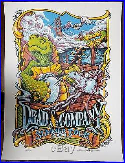Dead And Company VIP Poster Summer 2017