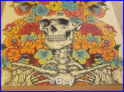 Dead And Company VIP Poster Summer 2018 By John Vogl Numberd And Signed