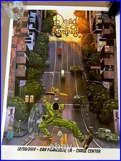 Dead And Company Vip Poster 2019 San Fransisco 12/30/19 # 60 / 900
