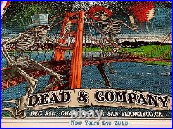Dead And Company Vip Poster 2019 San Fransisco 12/31/19 New Years