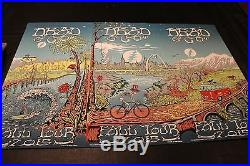 Dead & Co 2015/16 1st Tour Complete Set of 3 Numbered Posters Mike Dubois NM