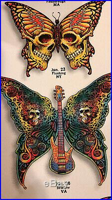Dead & Co. 2o19 Summer Tour VIP Limited Poster Signed as n. 2093 by the artist