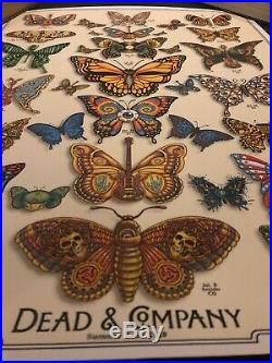 Dead & Co. 2o19 Tour VIP Limited Poster by Artist EMEK Signed & Numbered