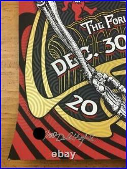 Dead & Company 2015 Derek Hatfield Poster Los Angeles, CA Forum