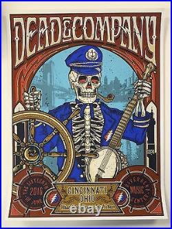 Dead & Company 2016 poster Cincinnati, OH Summer Tour