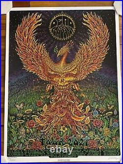 Dead & Company 2021 signed tour poster EMEK #3555