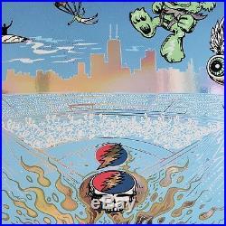 Dead & Company AJ Masthay & Mike DuBois Wrigley Field Chicago Poster Print Phish