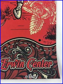 Dead & Company, Austin 2017 Derek Hatfield Poster Austin, TX Frank Erwin Center