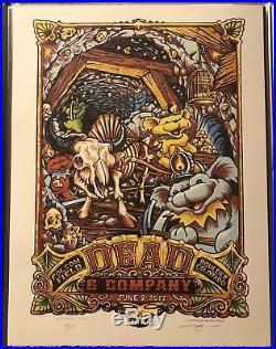Dead & Company Boulder 17 Poster Night 1 AJ Masthay