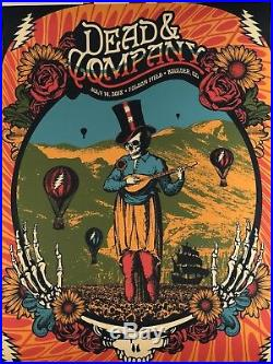 Dead & Company Boulder 2 Posters July 13 & 14, 2018 Justin Helton And John Mayer
