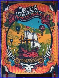 Dead & Company Boulder July 13 and 14 poster