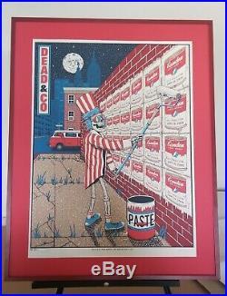 Dead & Company Camden 2019 Official Poster Grateful Dead Framed mint