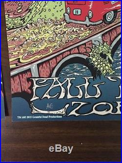 Dead & Company Fall Tour 3 Poster Set by Mike DuBois
