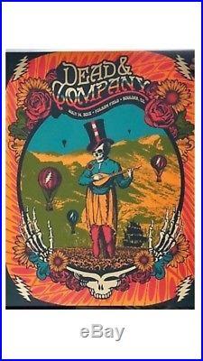 Dead & Company Folsom Field Boulder Colorado 7/14/18 LE800 Authentic Poster Mint