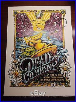 Dead & Company Gorge Print Poster AJ Masthay 7-23-2016 S/N RARE! AE # 46/50