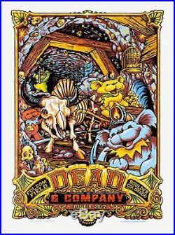 Dead & Company June 9th Boulder Colorado Poster S/n Aj Masthay 1st Edition Mint