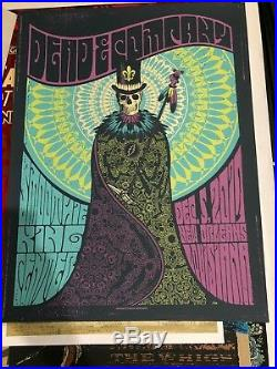 Dead & Company New Orleans 2017 Helton Poster