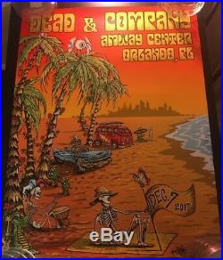 Dead & Company Orlando Poster Mike Dubois Hand Signed Numbered