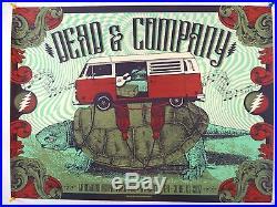 Dead & Company Poster 2017 Summer Tour Atlanta 6/13 Justin Helton x/750