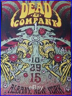 Dead & Company Poster Albany, NY 10/29/15 First Show Dead and Co Grateful