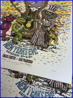 Dead & Company Poster Chase Center SF NYE 2019 Marq Spusta Grateful Dead IN HAND