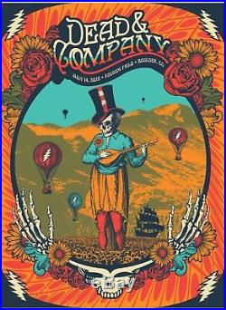 Dead & Company Poster Folsom Field Boulder July 14th 2018. Numbered