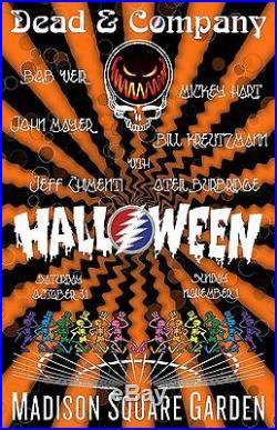 Dead Company Poster Halloween Madison Square Garden Nyc 10 31 15 Grateful Dead